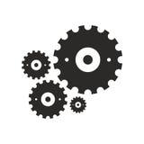 Modelo de la rueda dentada Fotografía de archivo libre de regalías