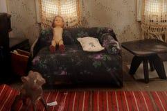 Modelo de la sala de estar Imágenes de archivo libres de regalías