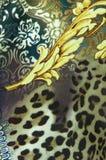 Modelo de la seda de la vendimia Imagen de archivo