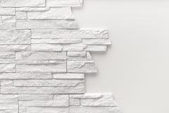 Modelo de la superficie blanca decorativa de la pared de piedra de la pizarra Imágenes de archivo libres de regalías