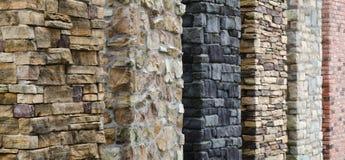 Modelo de la superficie de la pared de piedra Fotos de archivo