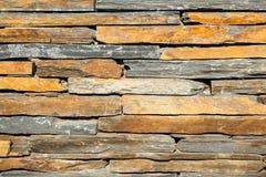 Modelo de la superficie decorativa de la pared de piedra de la pizarra Imagen de archivo libre de regalías