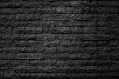 Modelo de la superficie negra decorativa de la pared de piedra de la pizarra Imagen de archivo libre de regalías
