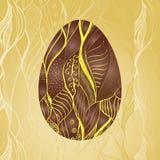 Modelo de la tarjeta de felicitación de Pascua Foto de archivo