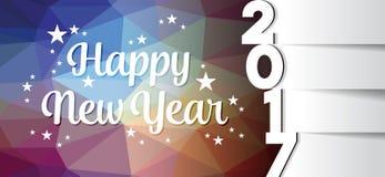 Modelo de la tarjeta de la Feliz Año Nuevo libre illustration