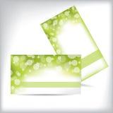 Modelo de la tarjeta de visita Foto de archivo libre de regalías