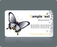 Modelo de la tarjeta de visita Fotos de archivo