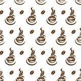 Modelo de la taza de café Fotografía de archivo libre de regalías