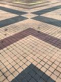 Modelo de la teja del cemento Fotos de archivo