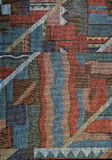 Modelo de la tela con el ornamento abstracto Foto de archivo