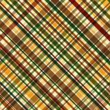 Modelo de la tela escocesa de la caída Imagen de archivo libre de regalías