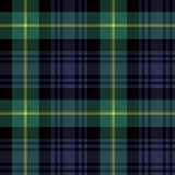 Modelo de la tela escocesa de la textura de la tela del tartán de Gordon inconsútil Imagenes de archivo