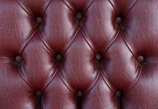 Modelo de la textura de cuero oscura de la tapicería Imágenes de archivo libres de regalías