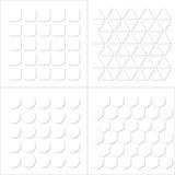 Modelo de la textura del alivio de Bas Fotos de archivo