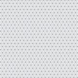 Modelo de la textura del fondo de Grey Triangle Clothing Fabric Vector ilustración del vector