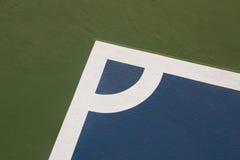 Modelo de la tierra de la esquina futsal del campo Imagen de archivo