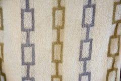 Modelo de la toalla Foto de archivo libre de regalías