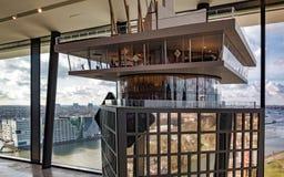 Modelo de la torre de Amsterdam fotos de archivo