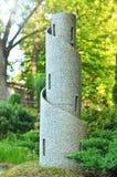 Modelo de la torre del reloj Fotos de archivo libres de regalías