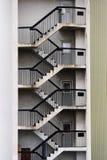 Modelo de las escaleras Imágenes de archivo libres de regalías