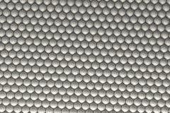 Modelo de las esferas blancas Imágenes de archivo libres de regalías