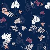 Modelo de las flores de la primavera Ramo de la acuarela de flores ilustración del vector