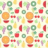 Modelo de las frutas Stock de ilustración