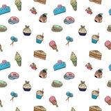 Modelo de las imágenes del vector de dulces ilustración del vector