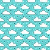 Modelo de las nubes Imágenes de archivo libres de regalías