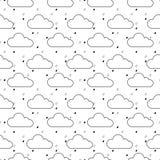 Modelo de las nubes Fotografía de archivo