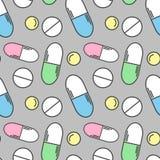 Modelo de las píldoras Foto de archivo