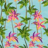 Modelo de las palmeras Imagen de archivo