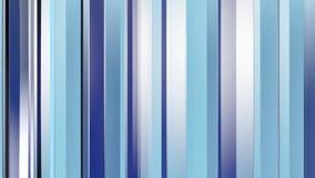Modelo de las prismas azules de las tiras de color abstraiga el fondo ilustración de la representación 3d almacen de video