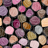 Modelo de las rosas Imagen de archivo libre de regalías