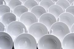 Modelo de las tazas de té Imágenes de archivo libres de regalías