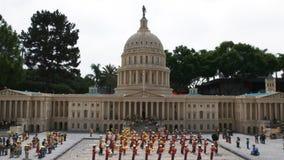 Modelo de Lego del nosotros edificio del capitol en el legoland