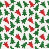 Modelo de los árboles de navidad Imagen de archivo libre de regalías
