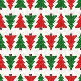 Modelo de los árboles de navidad Fotografía de archivo libre de regalías