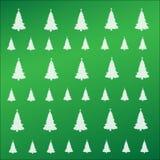 Modelo de los árboles de Navidad ilustración del vector