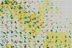 Modelo de los bloques Foto de archivo libre de regalías