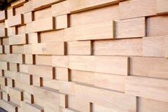 Modelo de los bloques de madera para el fondo Foto de archivo libre de regalías