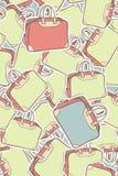 Modelo de los bolsos del recorrido Imagen de archivo libre de regalías