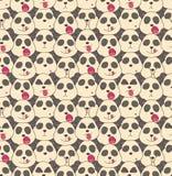Modelo de los bozales de las pandas Imagen de archivo libre de regalías