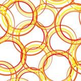 Modelo de los círculos Imagenes de archivo