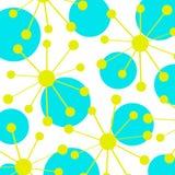 Modelo de los círculos ilustración del vector
