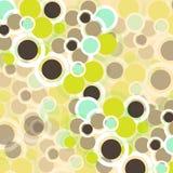 Modelo de los círculos Imagen de archivo libre de regalías
