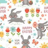 Modelo de los conejos de Pascua Fotos de archivo libres de regalías