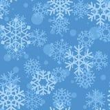 Modelo de los copos de nieve Fotografía de archivo libre de regalías