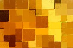 Modelo de los cuadrados Imagen de archivo libre de regalías