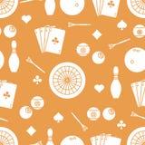 Modelo de los deportes Dardos, billares, bolos, tarjetas ilustración del vector